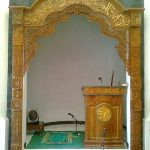 Ukiran Masjid Ornamen Kayu