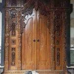 Model gebyok pintu ukir antik jepara