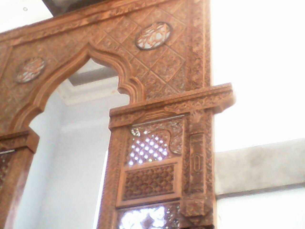 Ukiran Masjid Ornamen Kayu Gebyok Ukiran Jepara Gebyok Ukiran Jepara