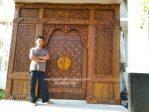 gebyok motif pintu masjid nabawi