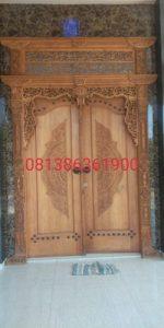 Pintu Gebyok RAHMAJATI hubungi 081386361900