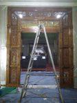 Mihrab ukir gebyok jepara