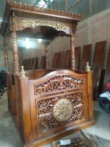 Mimbar masjid ukuran jumbo