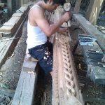 Jual pendopo ukir kayu jati