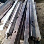 Pembuatan pintu menggunakan kayu jati bekas