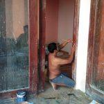 Pintu sleding produksi rahmajati gebyok